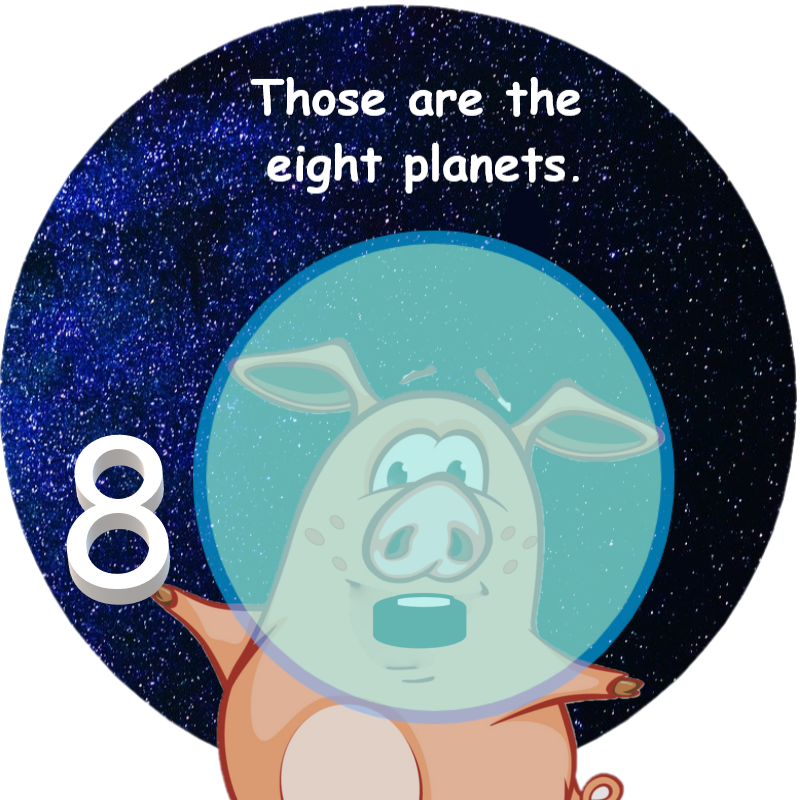Coloring Pages for Kids – Planets & Space