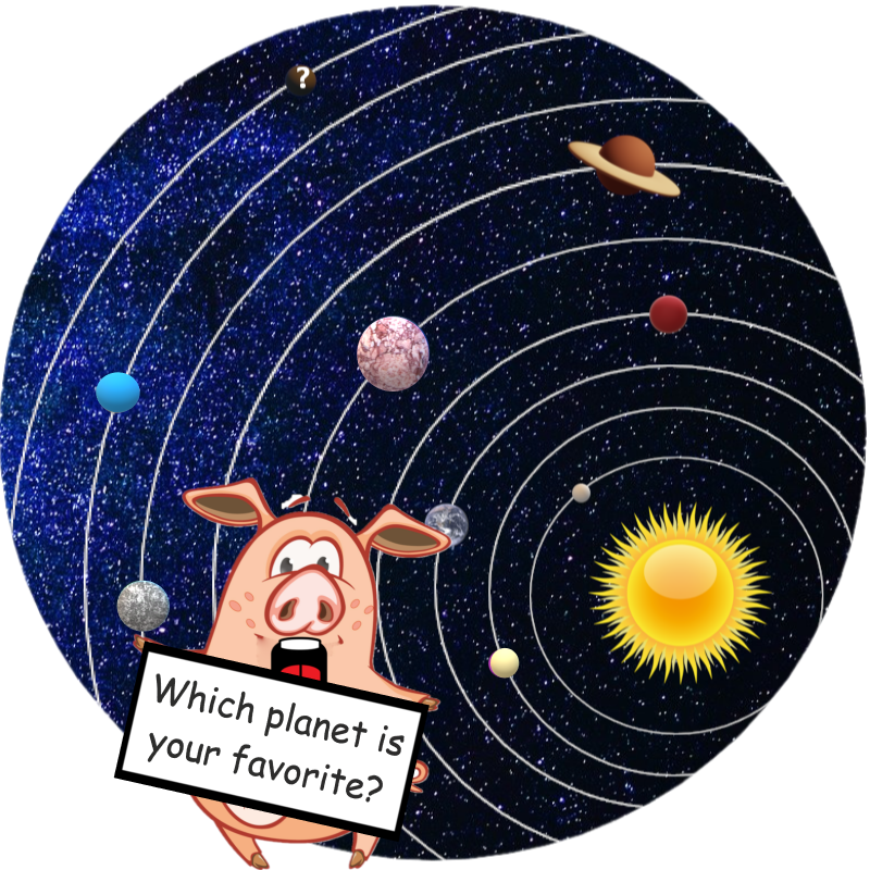 Children's book about planets