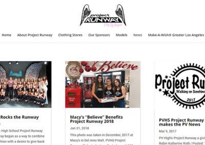 Annual Event Website