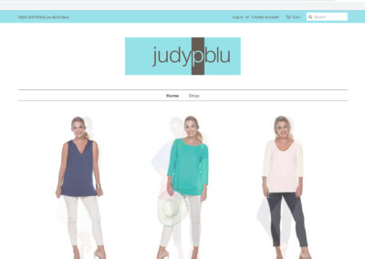 judypblu.com Shopify