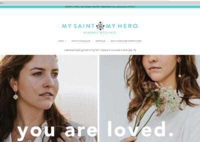 mysaintmyhero.com Shopify