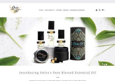 oniraoil.com Shopify