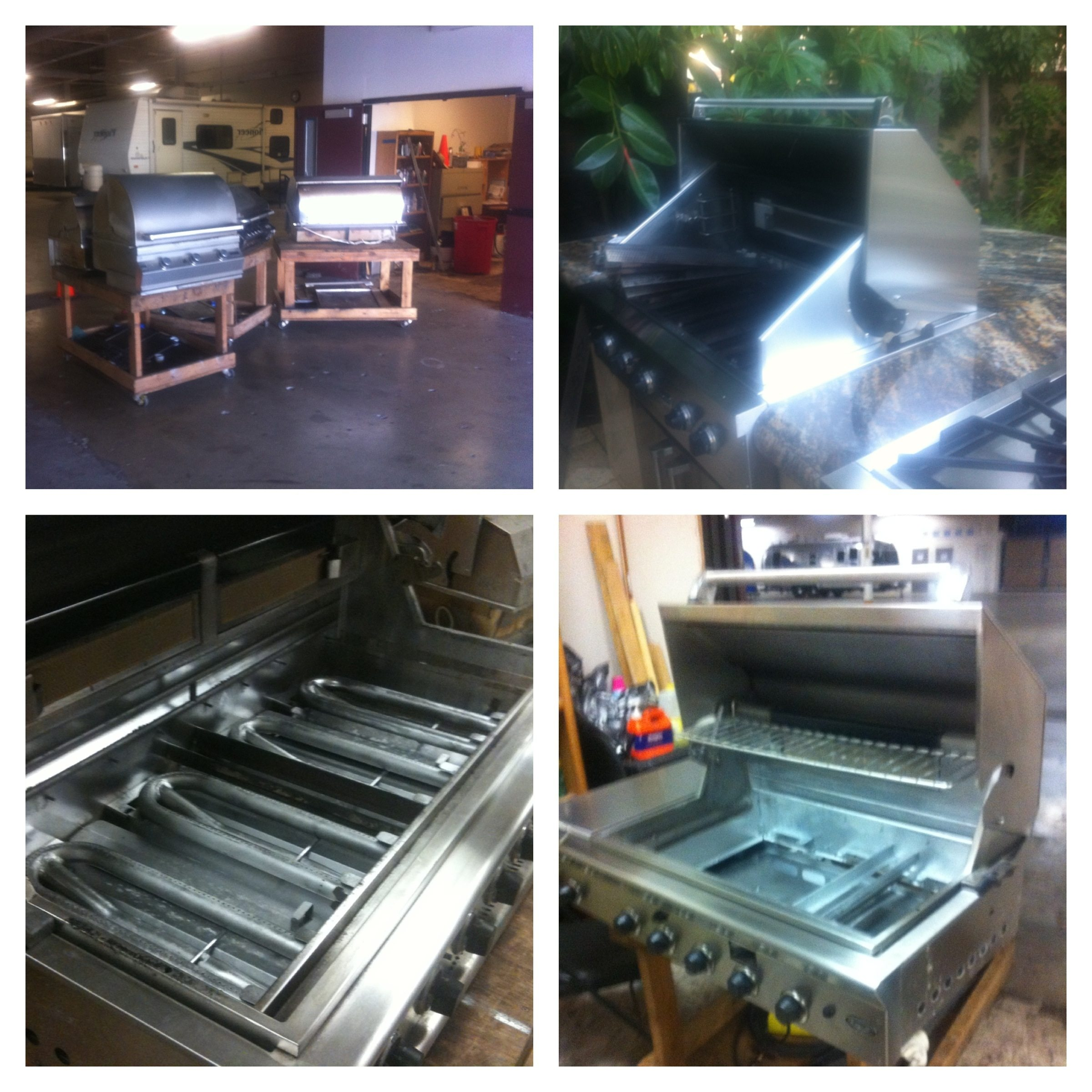 BBQ Restorations Orange County providing bbq grill cleaning and repair services.