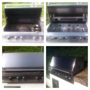 BBQ Restorations does another fine Viking Barbecue cleaning and restoration