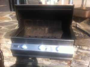 FireMagic Barbecue restoration Before Pic Hunington Beach