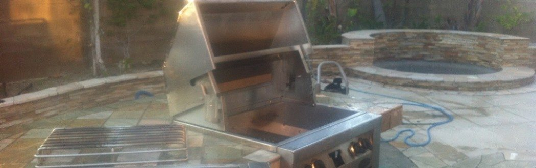 pictured in a bbq cleaning by Bbq Restorations Orange County