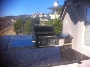 before image of viking barbecue Laguna Beach
