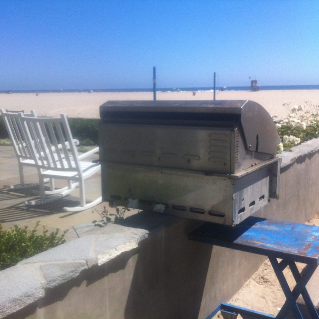 pictured isa barbecue restoratioin and repair project by bbq restoratiions