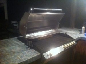 Turbo barbecue pictured and BBQ Restorations did the repair and cleaning