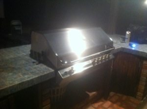 pictured is a Turbo barbecue after BBQ Restorations did some repaiors, a cleaning and restoration