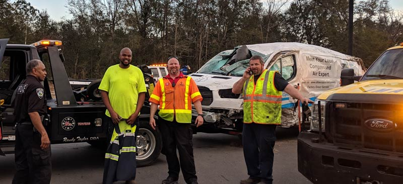 Call Intercoastal Towing for accident management and wrecker services.  Geocode: @34.2608454,-77.8488667