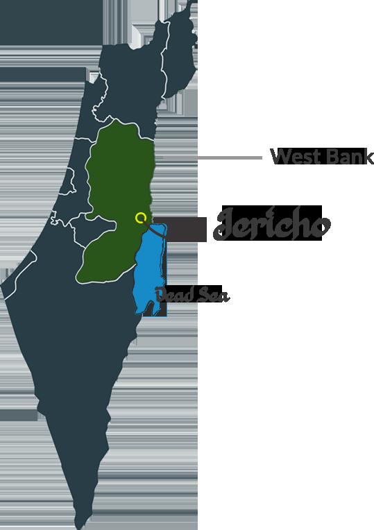 Palestine Dates Map
