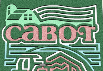 Fort Hill Farm's 2019 Corn Maze is a tribute to Cabot Cheese