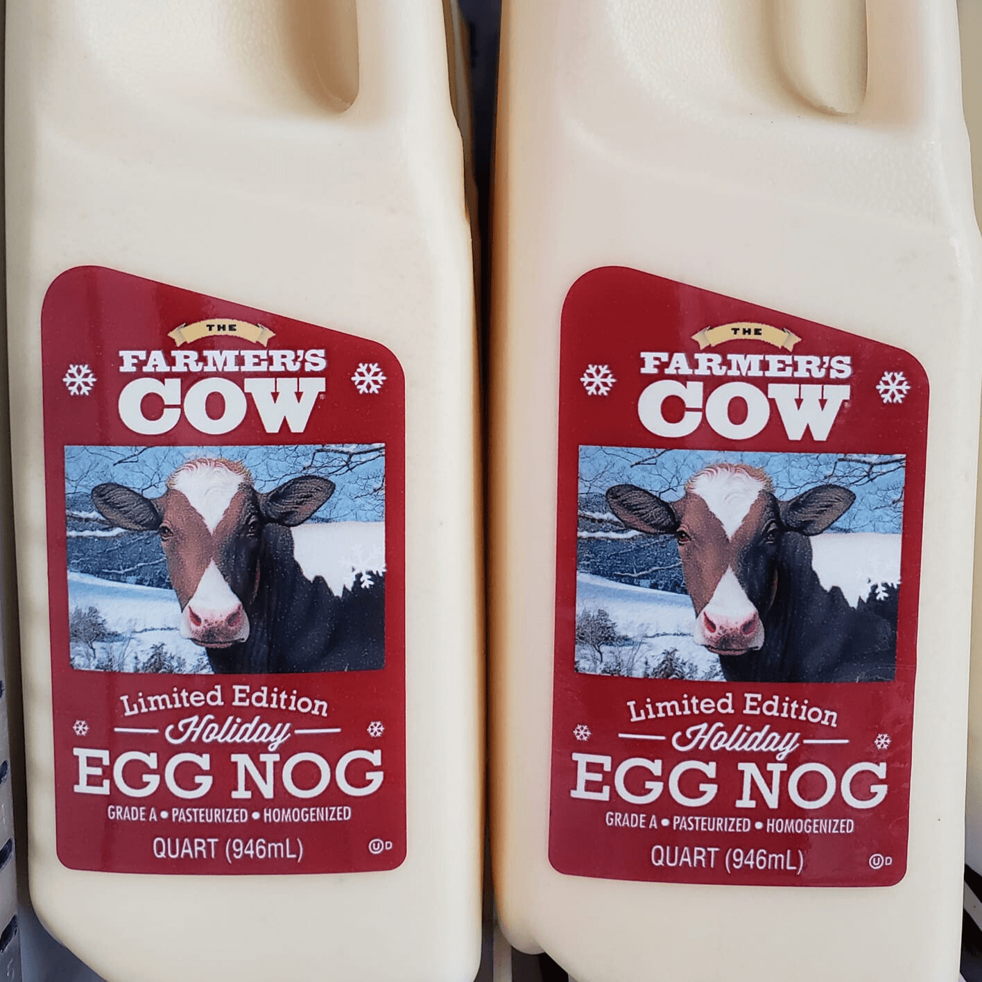 Take home some The Farmer's Cow Egg for the holidays