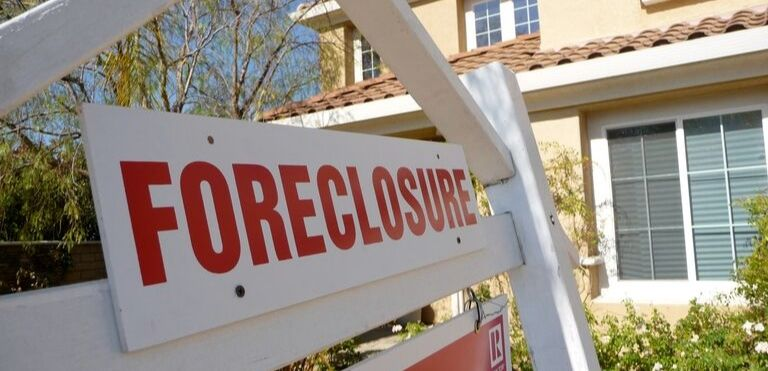 foreclosure sign real estate law fargo