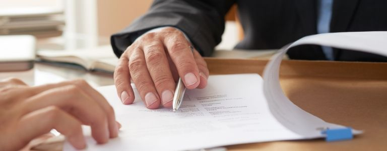 signing contract real estate law fargo