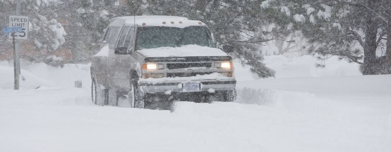driving in snow personal injury fargo