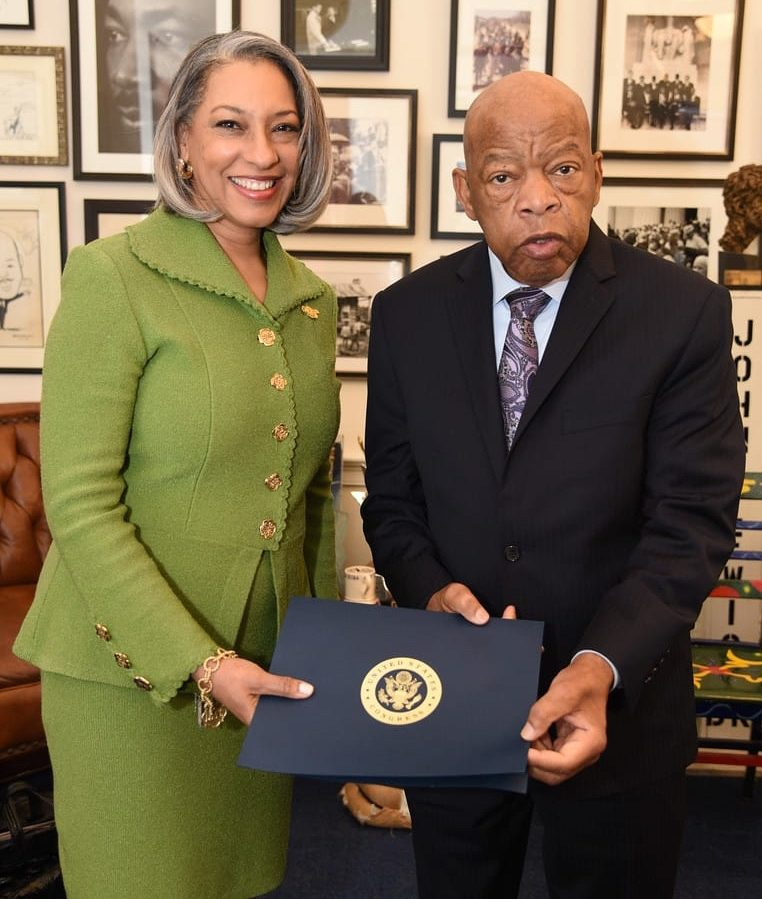 Civil Rights Icon John Lewis Lauds The Links, Incorporated and Issues Voting Rights Call to Action