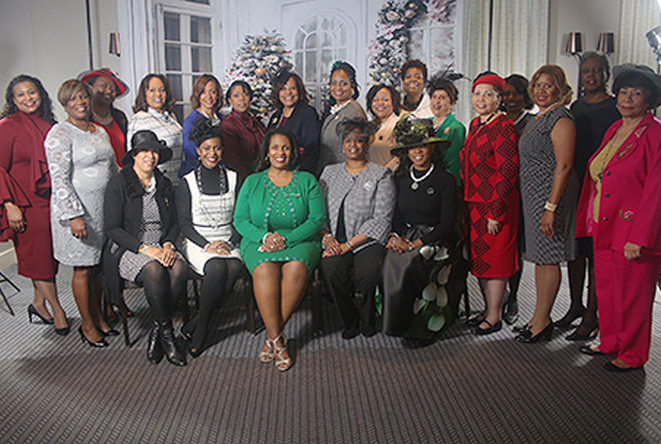 Bucks County (PA) Chapter Links, Incorporated host 4th Annual Legends Tea