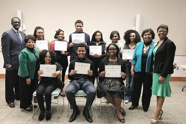 The Petersburg chapter of The Links, Inc. named winners of their annual essay contest