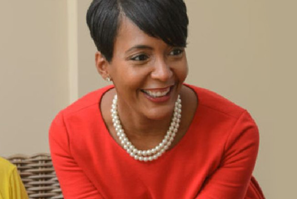 Keisha Lance Bottoms sworn in as Atlanta mayor