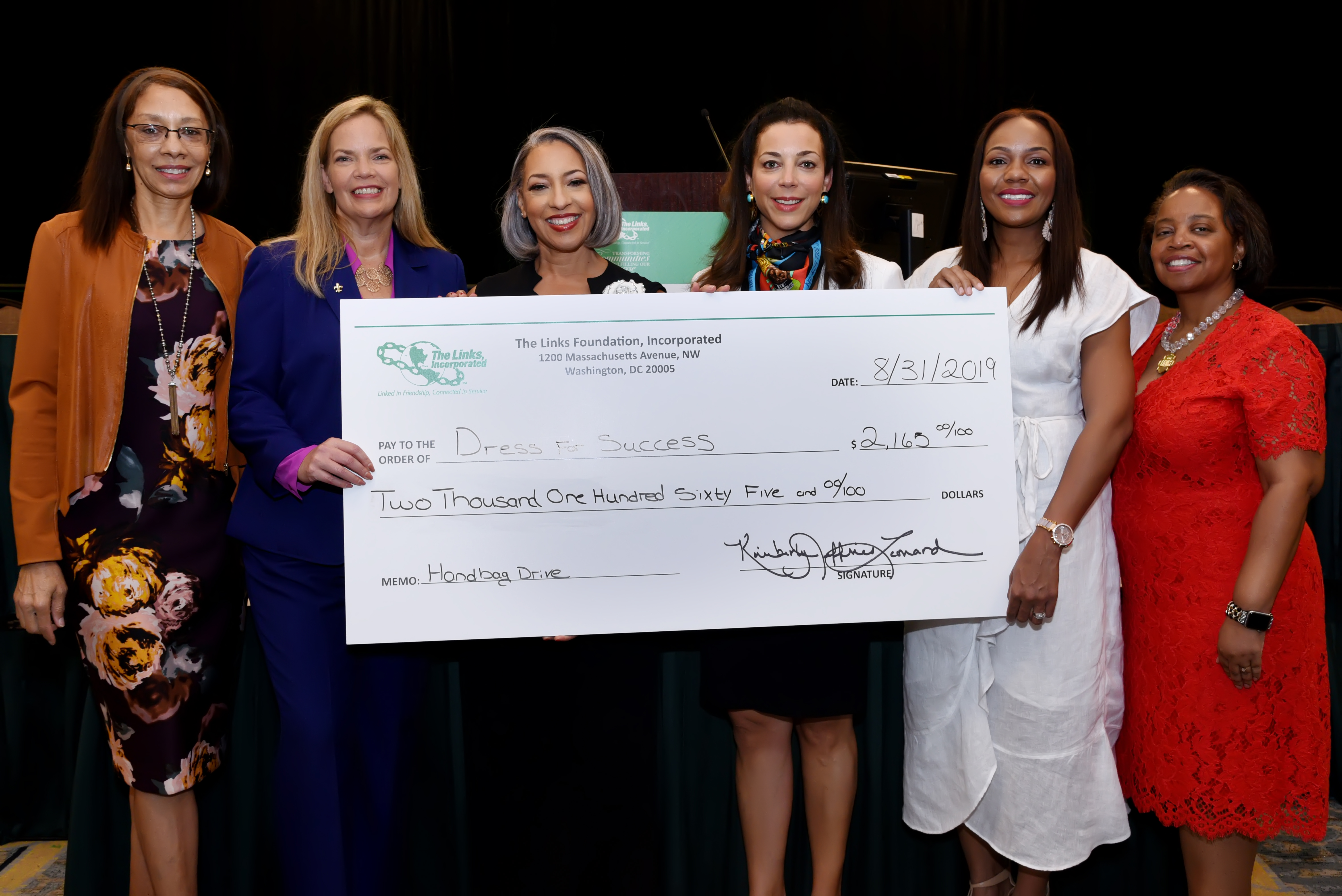 The Links Foundation, Incorporated Commits Funds and Supplies to Dress for Success New Orleans to Help Empower Local Women