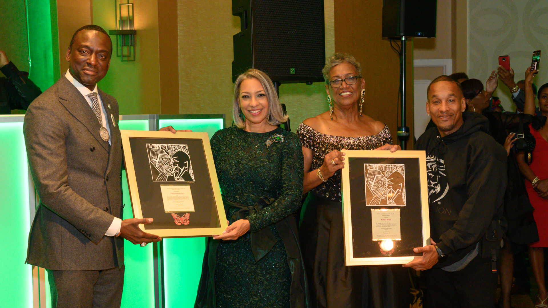 """The Links, Incorporated Honor """"The Exonerated 5"""" At 23rd Annual Masquerade Ball"""