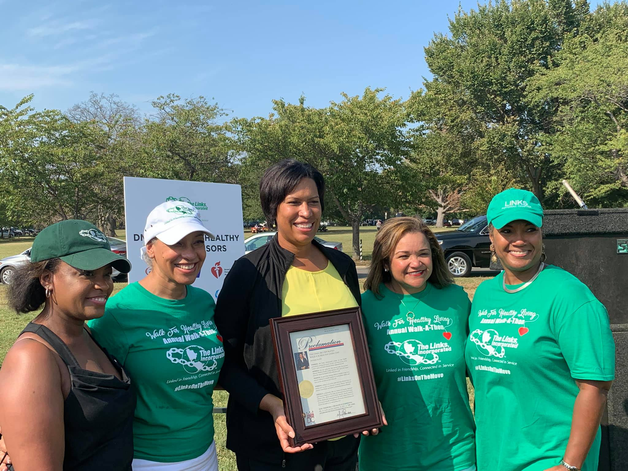 The Links, Incorporated Host 24th Annual National Walk-A-Thon: Inspire Communities of Color to Take Control of Their Health Through Walking