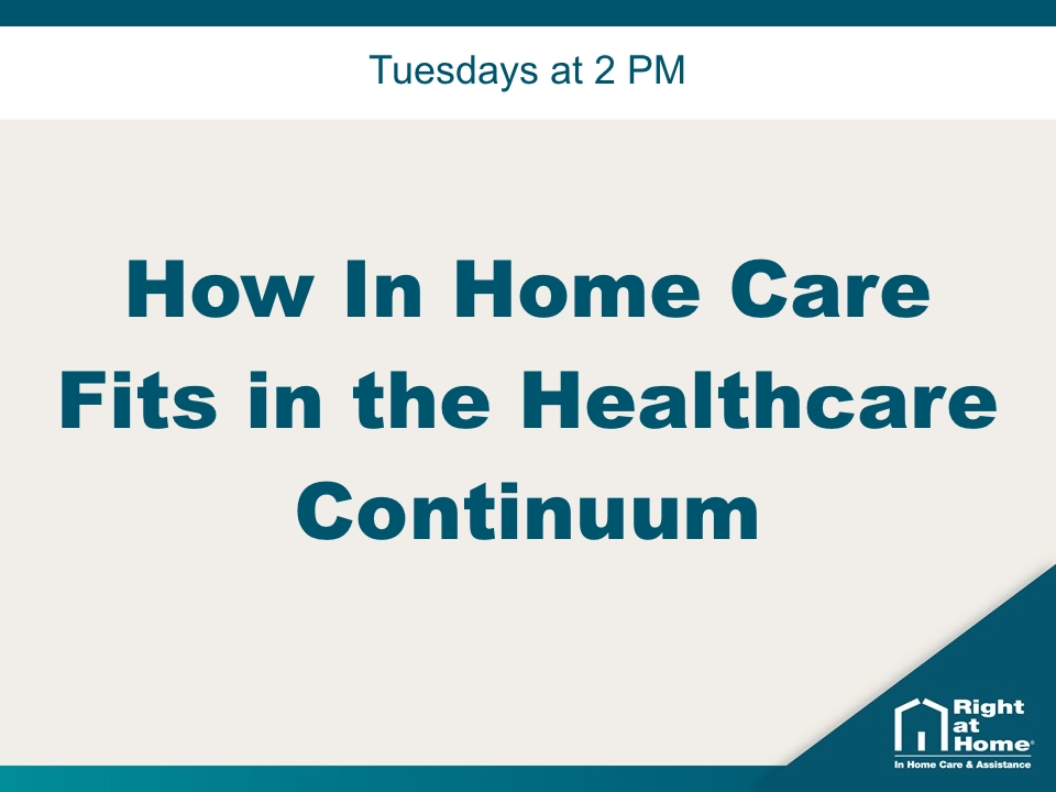 How In Home Care Fits in the Healthcare Continuum