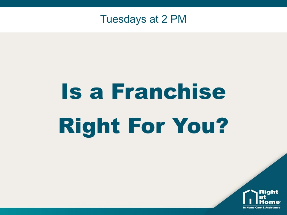Is a Franchise Right for You?