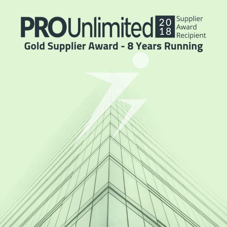 TalentBurst Named as Gold Supplier in PRO Unlimited 2018 Global Supplier Awards