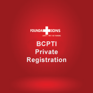 BCPTI Private Registration