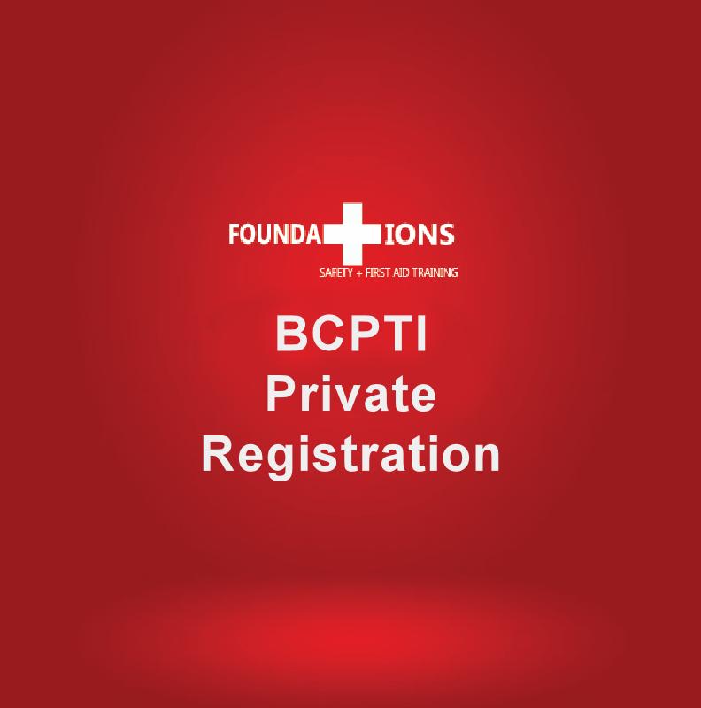 BCPTI Private Registration