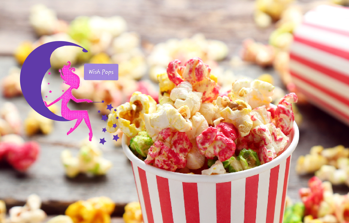 Make your own assorted Popcorn