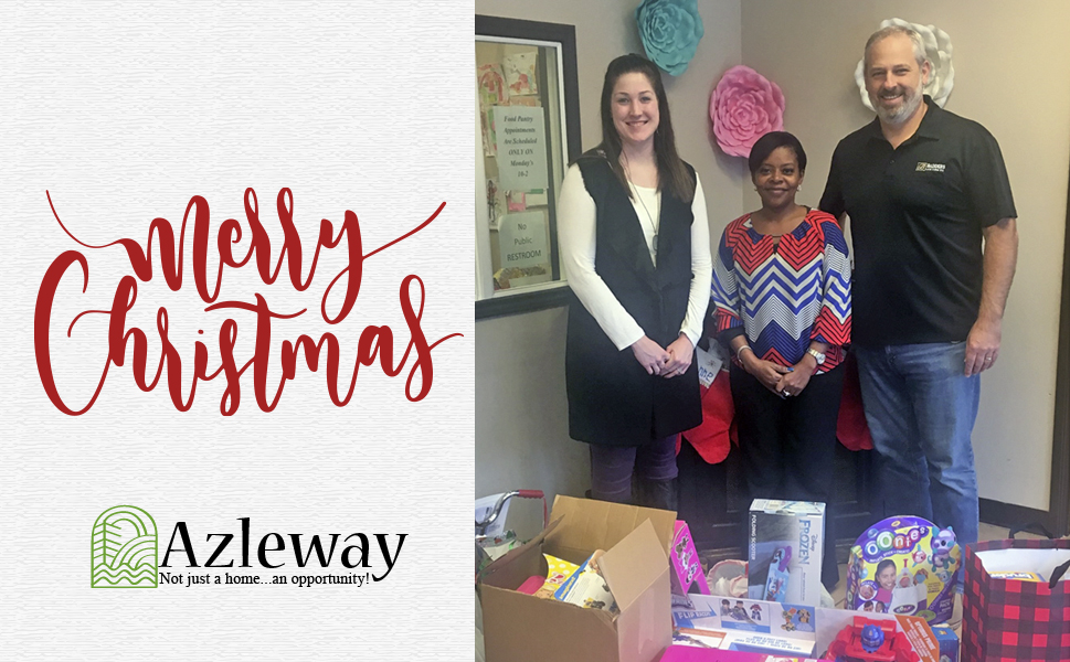 Gifts Purchased for Azleway Children's Services