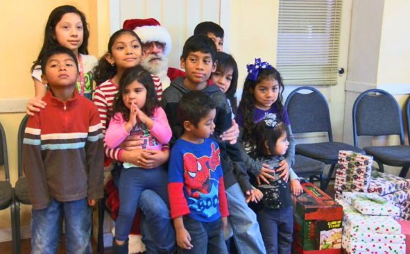 Nacogdoches law firm provides Christmas cheer to children who lost mom