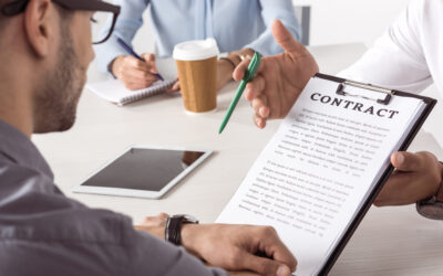 NEGOTIATING A TERMS OF A CONTRACT?