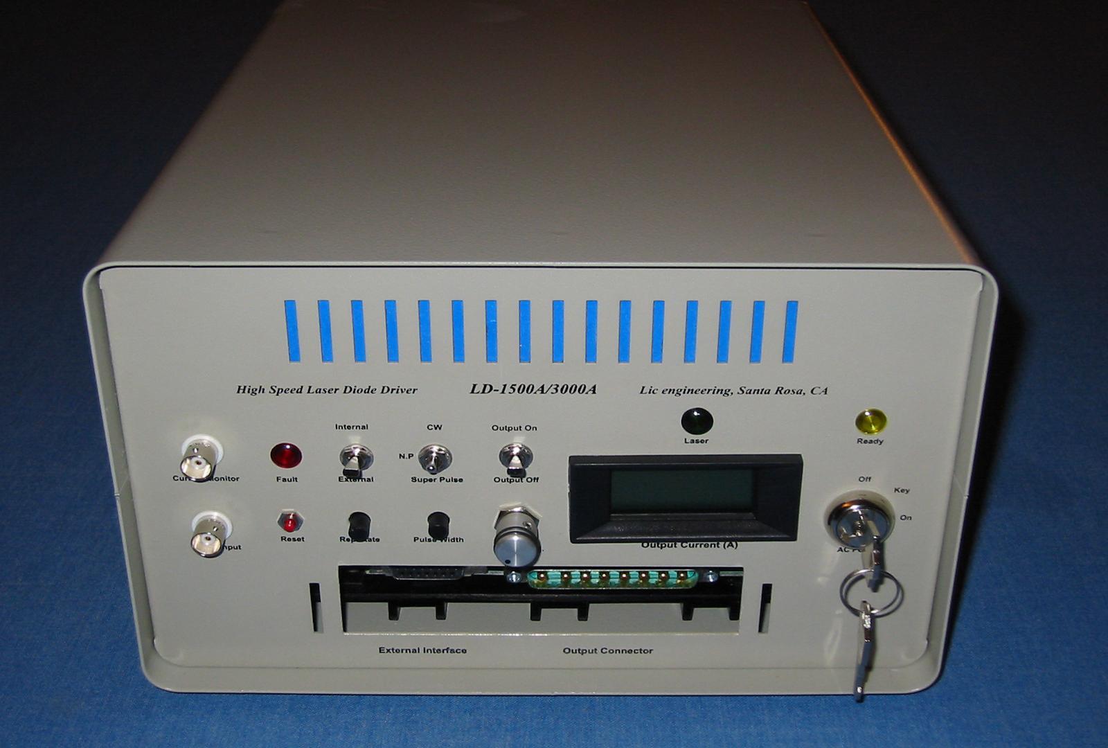 D-1500A/3000A - High Speed & High Power Laser Diode Driver