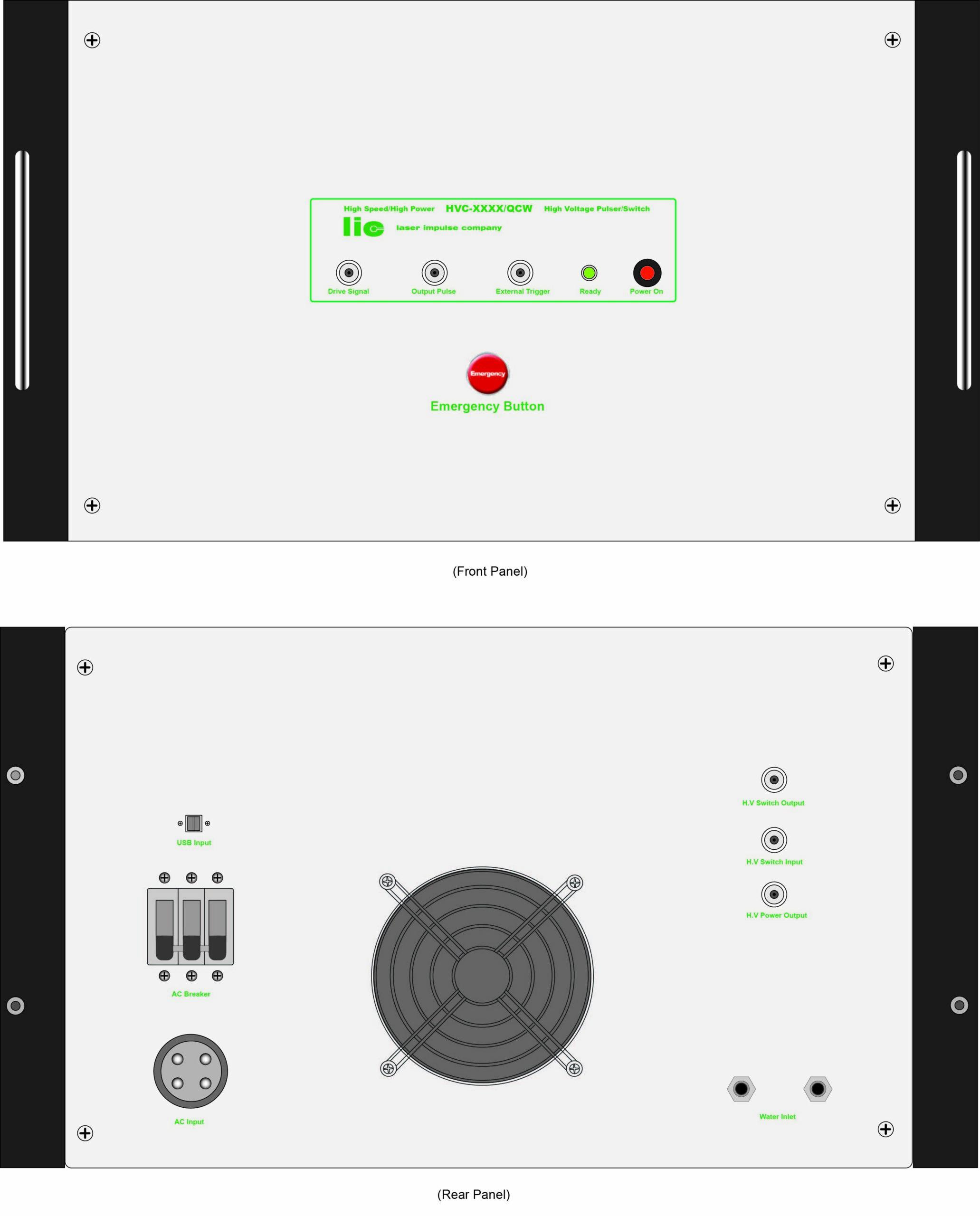 HVC-XXXX-USB – High Power & High Voltage Switch/Pulse Generator