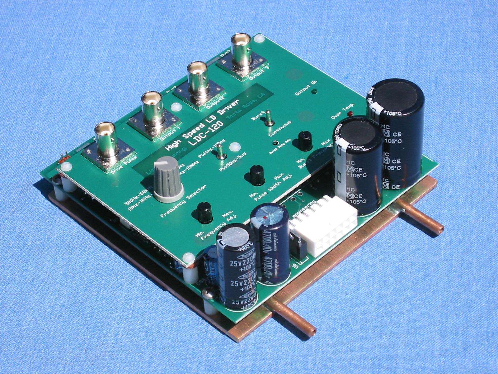 LDC-XXX-XX – High Current & High Power Laser Diode Driver/Pulse Generator