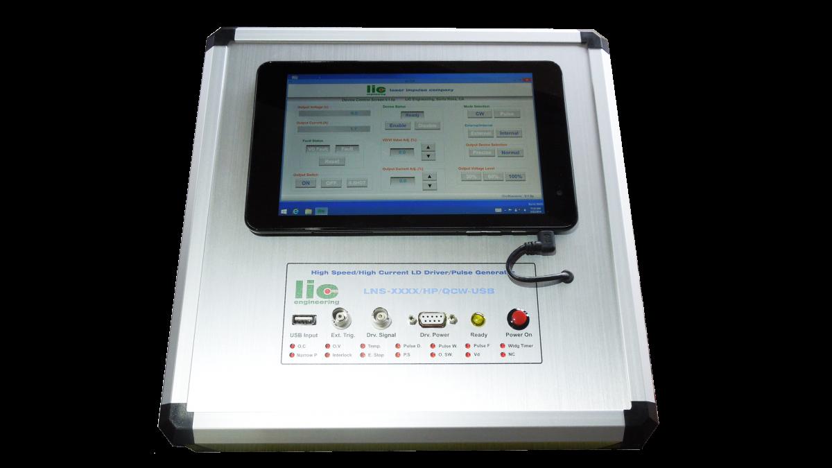LNS-XXXX/HP/USB – Ultra High Speed Laser Diode Driver