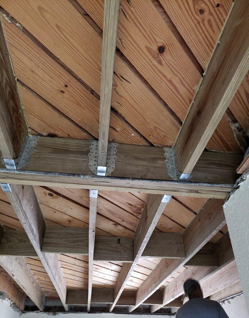 Interior Modification to Roof In Miami, FL