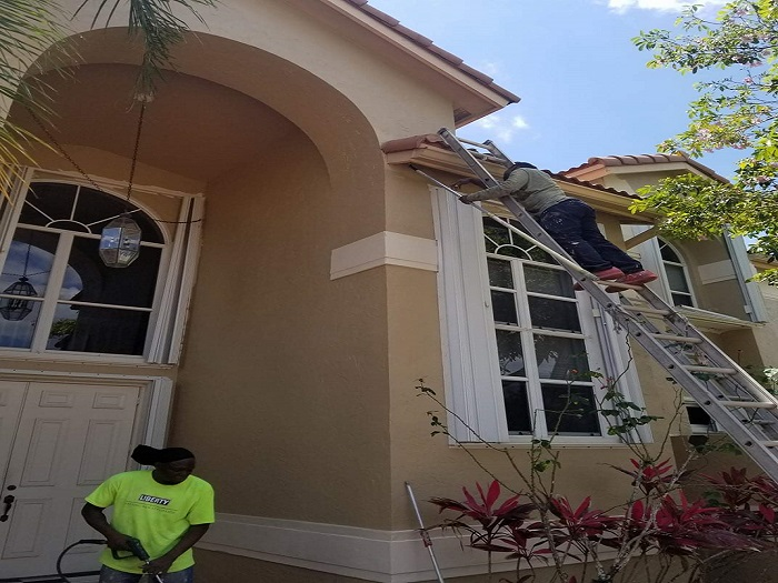 Outdoor Painting Project - Miramar, FL