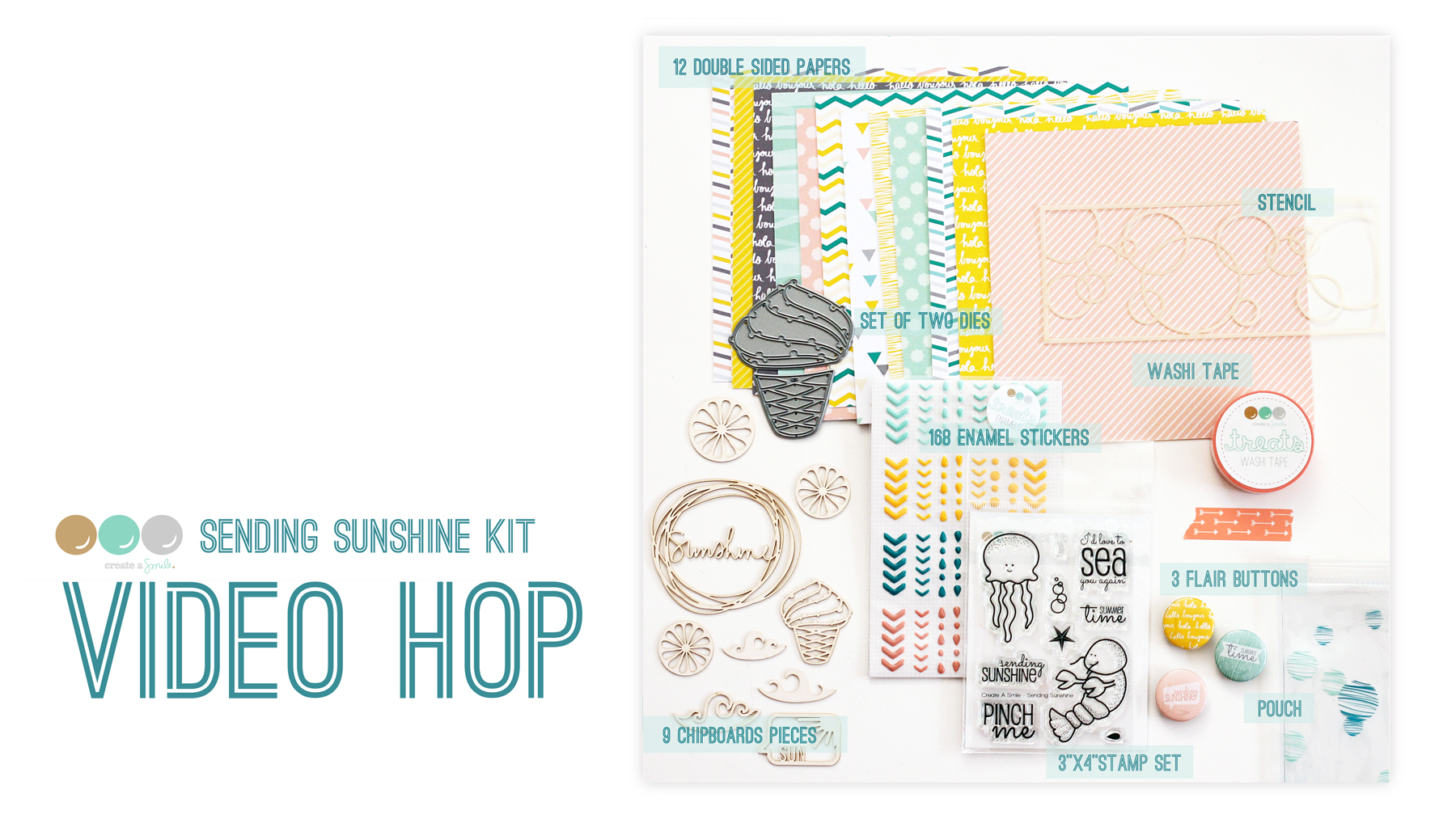 Sending Sunshine Kit - Video Hop Intro Graphic