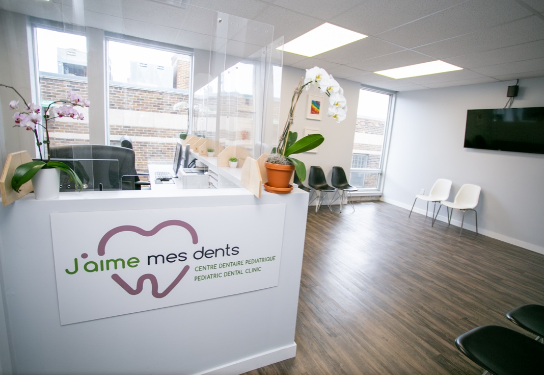 jaime mes dents meilleure clinique de dentisterie pédiatrique à Montréal