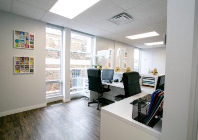 office Reception | Jaime mes dents dental clinic