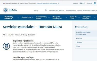 Aprueban ayuda a afectados por huracán Laura