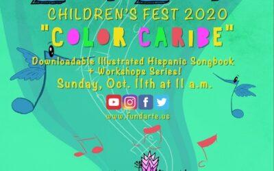 """ZunZún Children's Fest presenta """"the premiere of Color Caribe"""""""