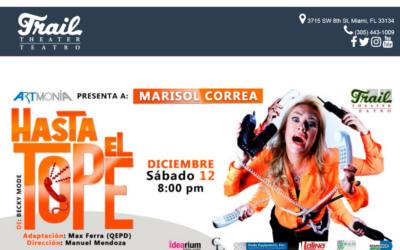 """Reabre el Teatro Trail en Catarsis """"Hasta el Tope"""""""