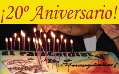 ¡Celebrando el 20º Aniversario de El Paracaidista!